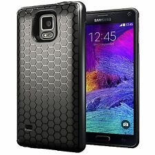 Arc™ Samsung Galaxy Note 4 Extended Battery HoneyComb Black TPU Case / Cover