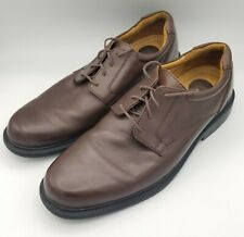 Croft & Barrow Brown Leather Oxford Casual Dress Men's Shoes Size 10M