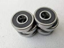 Bones Swiss 608 longboard skateboard bearings 8-count black silver