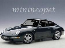 AUTOart 78134 1995 95 PORSCHE CARRERA 911 993 1/18 DIECAST MODEL GREEN METALLIC