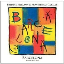 FREDDIE MERCURY  & CABALLÉ,MONTSERRAT - BARCELONA (SPECIAL EDITION)  CD NEW+
