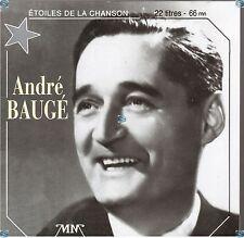 ANDRE BAUGE c'est l'amour CD (407) les etoiles de la chanson