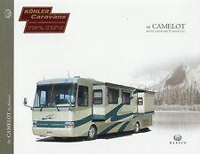 Prospekt Monaco Camelot 2004 Reisemobil Wohnmobil brochure motor home camper USA
