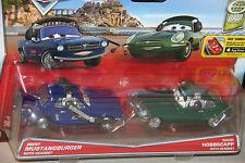 "DISNEY PIXAR CARS""2-PACK BRENT MUSTANGBURGER W/HEADSET/DAVID HOBBSCAP W/HEADSET"""