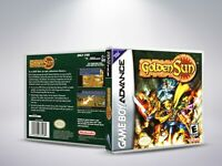 Golden Sun - GBA - Replacement Cover / Case (NO Game) - PAL/US