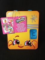 Shopkins Lunch Box And Who's The Super Shopper Card Game Collector's Tin Ages 6+
