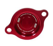 MDR Filtre à Huile Couvercle Oil Filter Cover Couvercle Filtre à huile HONDA CRF 250 04-09 rouge