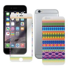 Tribal Pattern Skin Decal Wrap with Clear Screen Protector For iPhone