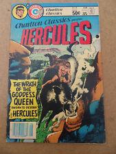 Charlton Classics 8 . Hercules . Charlton 1981 . VG +