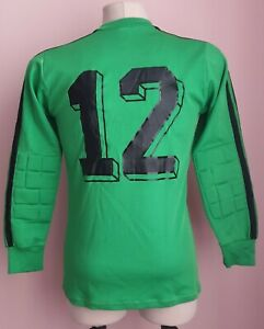 Ultra rare Erima Goalkeeper shirt Made in West Germany Jersey size M #12
