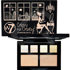 W7 Glow for Glory Illuminating Palette 4 G 5