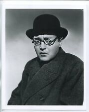 "Mr. Moto 8""x10"" Black and White Promotional Still Peter Lorre FN"