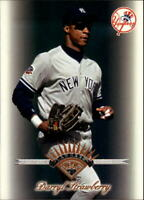 1997 Leaf New York Yankees Baseball Card #291 Darryl Strawberry