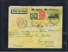 SAIGON TO MARSEILLE SEAPLANE MAIL 1932