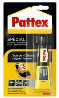 Colla Adesivo Speciale Per Scarpe Pelle Gomma Plastica 30 Gr Pattex Impermeabile