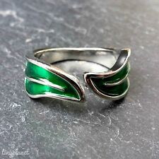 The Lord of the Rings Elven Leaf of Lorien Ring Adjustable LOTR Elf Hobbit