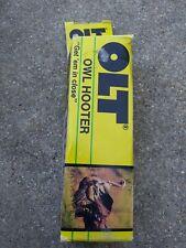 Vintage P.S. Olt Ol-40 Owl Call & Turkey Hooter In Original Box Aa