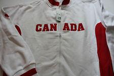 Eishockey WM Canada Team Canada Retro Jacke Eishockey Logos Genäht XL