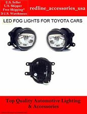 1 ONE PAIR REPLACEMENT LED FOG LIGHTS FOR LEXUS TOYOTA 81210-48050 81220-48050