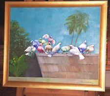 Beautiful Painting by Gesner Armand Haitian Painter - Listed Artist Deceased