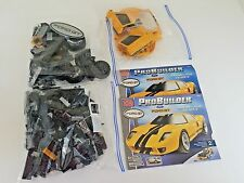 2003 Mega Bloks Pro Builder Ford GT 9710 Yellow