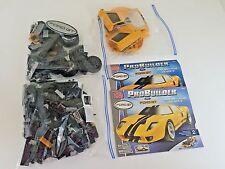 2003 Mega Bloks Pro Builder Ford GT 9710 Yellow