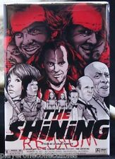 "The Shining Movie Poster 2"" X 3"" Fridge / Locker Magnet. Jack Nicholson"