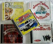 THE MIGHTY MIGHTY BOSSTONES lotto stock 5 cd originali