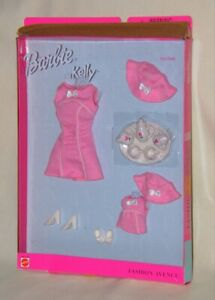 Tea Time Fashion Avenue Barbie & Kelly Matchin' Styles NRFB Box NOT mint 1999