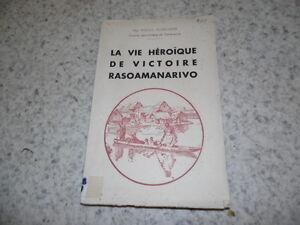 1950.vie héroïque de Victoire Rasoamanarivo.Madagascar.Fourcadier