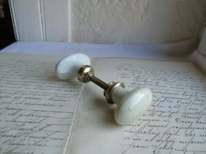 French  antique porcelain door knob door handle to any projects