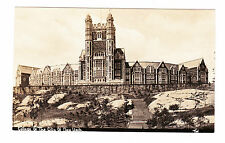 USA. THE COLLEGE OF . NEW YORK. OLD REAL PHOTO POSTCARD