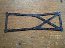 Raptor Titan X 50 de fibra de carbono inferior marco Brace