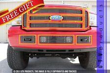 GTG 2005 - 2007 Ford F250 F350 F450 Super Duty 9PC Polished Billet Grille Kit