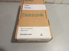 Siemens 6Dc5001-8Ac Expandable Wiring Module. New!