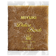 Wholesale Miyuki Delica Seed Beads 11/0 Colour Lined Light Bronze 100g (P96/3)