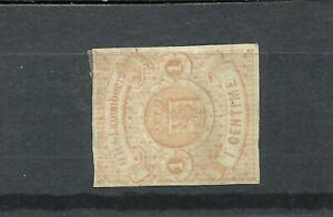 LUXEMBOURG YV # 3, M NO GUM, VF