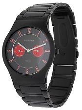 BERING Herren Armbanduhr schwarz 11939-729