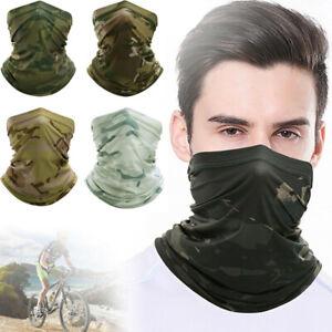 Hunting Face Cover Balaclava Neck Tube Gaiter Motorcycle Bandana Headband