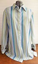 Tommy Hilfiger Womens Shirt Button Down Striped Pattern Long Sleeve Size 20 NWT