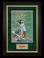 Framed Billie Jean King Autograph Replica Print 8x10 Print