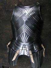 18GA Steel Medieval Upper Body Gothic Armor Breastplate/ Cuirass Knight Armor L9