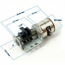 Dc3v 5v 2 Phase 4 Wire Mini Precision 10mm Stepper Motor Linear Screw Slider Nut