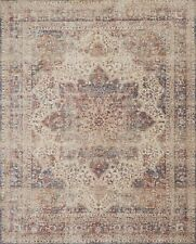 12'x15' Loloi Rug Porcia Polyester Ivory Red Power-loomed Transitional PB-05