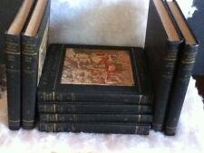 A PICTURESQUE TALE OF PROGRESS 1935 8-Volume Set Olive Beaupre Miller Henry Baum