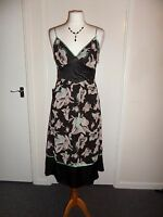 NEW 100% Silk Ted Baker Cocktail Party Dress Size 2 UK 8-10 Wedding Evening