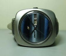 Vintage Enicar Automatic Day Date Swiss Mens Wrist Watch g224 Used Antique Old