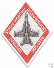 VFA-102 F-18 FORWARD DEPLOYED  patch