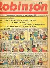 ROBINSON n°172 du 13.8.1939