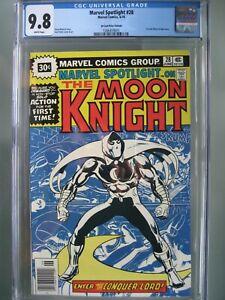 Marvel Spotlight #28 30 Cent Price Variant CGC 9.8 WP 1st solo Moon Knight story